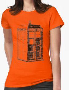 Tardis Word Art T-Shirt