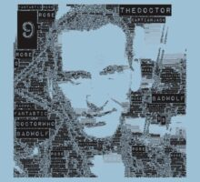 9th doctor word art by Smurflewis