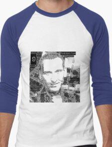9th doctor word art Men's Baseball ¾ T-Shirt