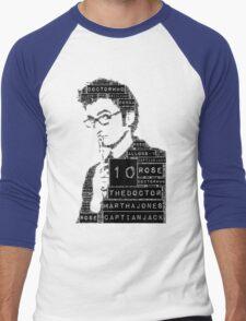 10th doctor Men's Baseball ¾ T-Shirt