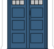 """The Term is """"Time Lord"""" Sticker"""