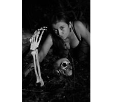 First spooky images of the season with Beth 2013 Photographic Print