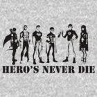 Heroes never die by Smurflewis