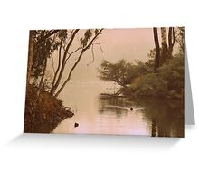 Through the Trees By Lorraine McCarthy Greeting Card