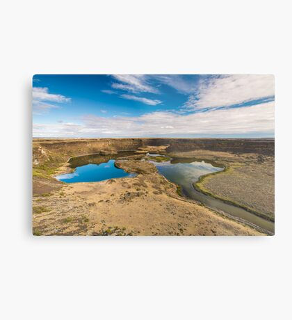 Dry Falls, Washington State Metal Print