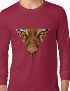 Animal Art - Tiger Long Sleeve T-Shirt