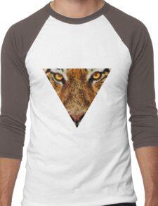 Animal Art - Tiger Men's Baseball ¾ T-Shirt