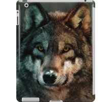 Animal Art - Wolf iPad Case/Skin