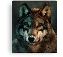 Animal Art - Wolf Canvas Print