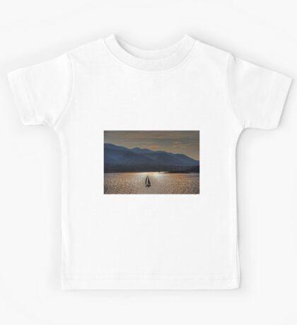 Sunset on the Dalmatian Coast Kids Tee