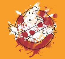Ghostbusters Logo Paint Splatter Outline by thorbahn3