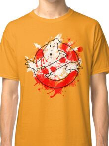 Ghostbusters Logo Paint Splatter Outline Classic T-Shirt