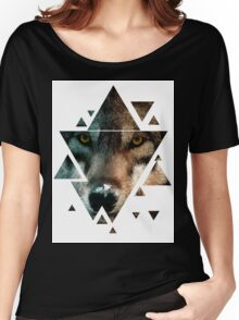 Animal Art - Wolf Women's Relaxed Fit T-Shirt
