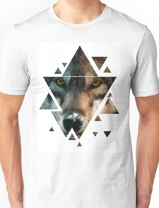 Animal Art - Wolf Unisex T-Shirt