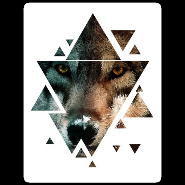 Animal Art - Wolf by Diego Tirigall