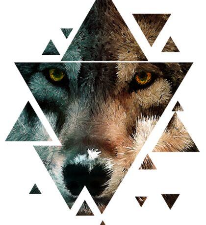 Animal Art - Wolf Sticker