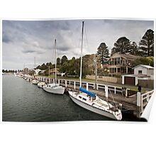Port Fairy wharf #2 Poster