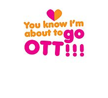 You know I'm about to go OTT! Over the Top Photographic Print