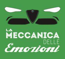 Alfa Romeo la meccanica delle emozioni Kids Tee