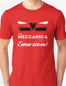 Alfa Romeo la meccanica delle emozioni T-Shirt
