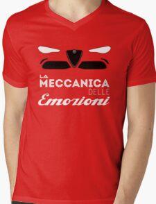 Alfa Romeo la meccanica delle emozioni Mens V-Neck T-Shirt