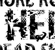 Zombie Walking Living Dead Quote Sticker
