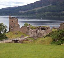 Castle Urquhart by Kenjy8