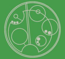 Slytherin Gallifreyan Kids Clothes