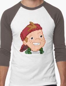 8-Bit TJ Detweiler Men's Baseball ¾ T-Shirt