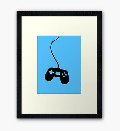 VideoGame Control  Framed Print