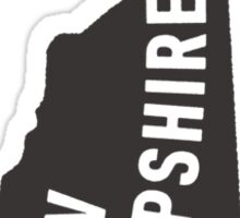 New Hampshire - My home state Sticker