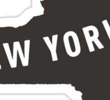 New York - My home state Sticker