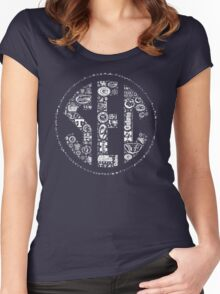 SEC with Logos Women's Fitted Scoop T-Shirt