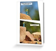 Boris the Base Jumper Greeting Card