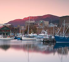 Constitution Dock, Hobart, Tasmania by Richard Cowling