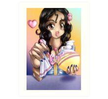 Birthday Ariel Art Print