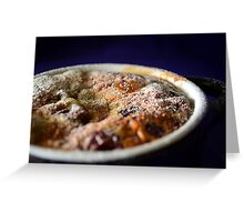 Cherry Clafoutis Greeting Card