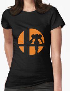 Samus - Super Smash Bros. Womens Fitted T-Shirt