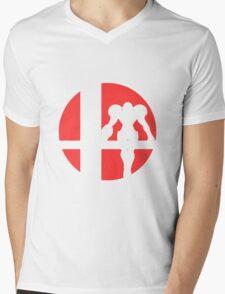 Samus - Super Smash Bros. Mens V-Neck T-Shirt