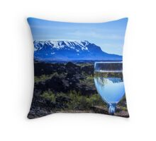 Cheers to Iceland Throw Pillow