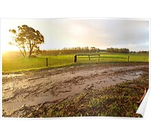 afternoon after rain Poster
