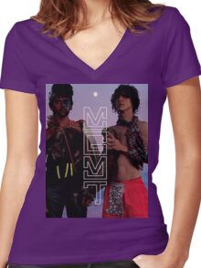 Oracular Spectacular Women's Fitted V-Neck T-Shirt