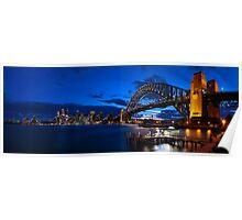 Sydney Skyline Panorama 2 Poster