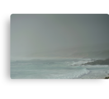 rainy day at Quinninup Beach Canvas Print