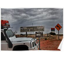 Welcome to South Australia Poster