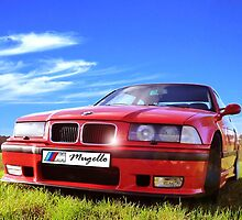 M3 E36 Mugello Red by Picshell80