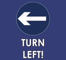 TURN LEFT! by tardisbabes