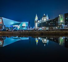 Museum Of Liverpool And Liver Building by Paul Madden