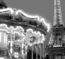 Paris Carousel by Adrian Alford Photography