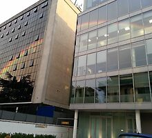 Rainbow Buildings by GaryWood